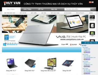 thuyvan.com.vn screenshot