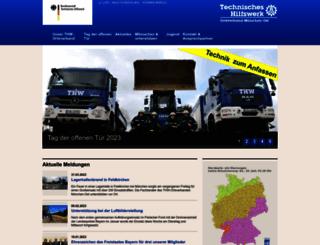 thw-muenchen-ost.de screenshot