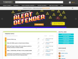 thwack.com screenshot
