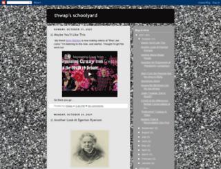thwapschoolyard.blogspot.com screenshot
