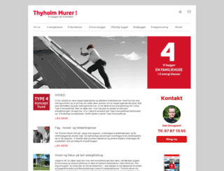 thyholmmurer.dk screenshot