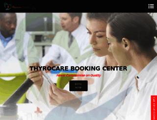 thyrocare.net.in screenshot