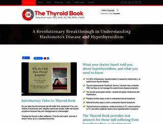 thyroidbook.com screenshot