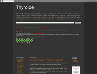 thyroide-fibromyalgie.blogspot.com screenshot