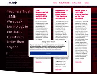 ti-me.org screenshot