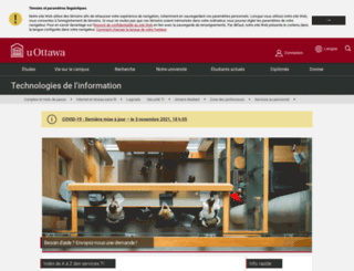 ti.uottawa.ca screenshot