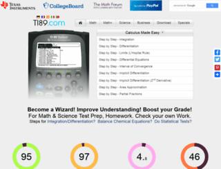 ti89.com screenshot
