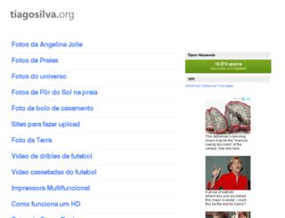 tiagosilva.org screenshot