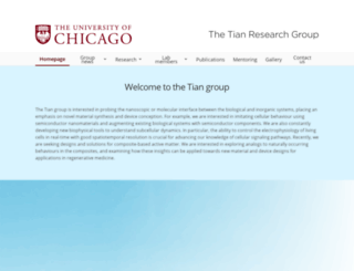 tianlab.uchicago.edu screenshot
