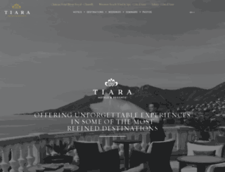 tiara-hotels.com screenshot