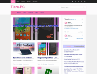 tiara-pc.blogspot.com screenshot