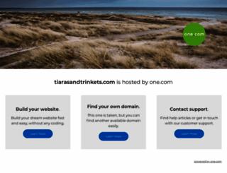 tiarasandtrinkets.com screenshot