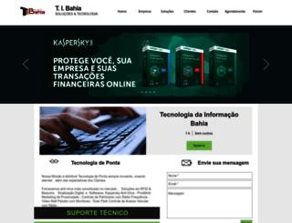 tibahia.com.br screenshot