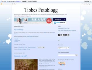 tibbesfotoblogg.blogspot.se screenshot