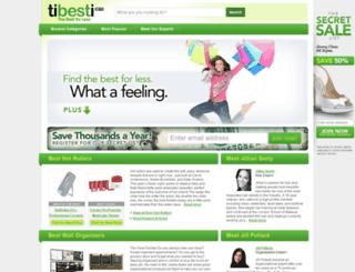tibesti.com screenshot