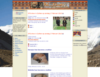 tibetaanse-spaniel.nl screenshot