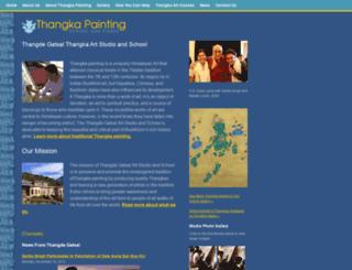 tibetanpaintings.com screenshot