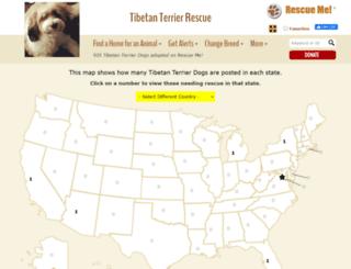 tibetanterrier.rescueme.org screenshot