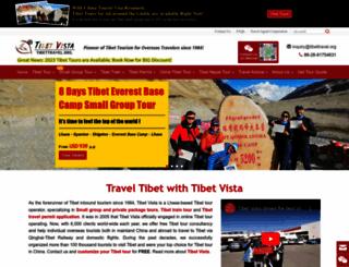 tibettravel.org screenshot