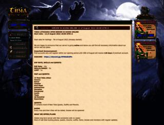 tibia.lt screenshot
