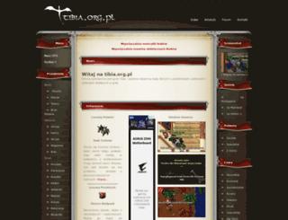 tibia.org.pl screenshot