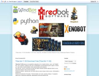 tibiafreebot.blogspot.com.br screenshot