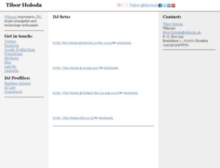 tibor.holoda.sk screenshot