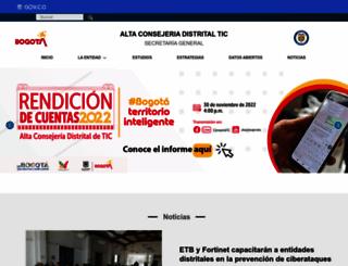 tic.bogota.gov.co screenshot
