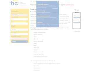 tic.co.za screenshot