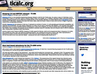 ticalc.org screenshot