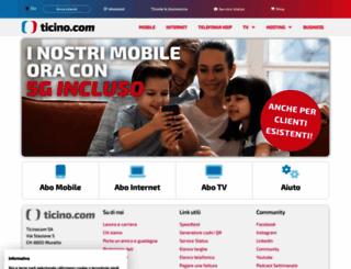 ticino.com screenshot