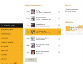ticker.radioswissjazz.ch screenshot