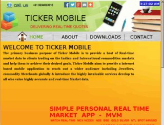 tickermobile.com screenshot