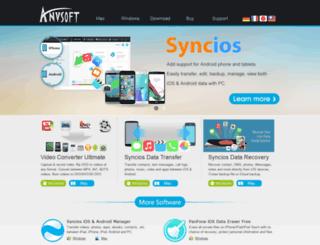 ticket.anvsoft.com screenshot