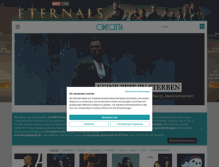 ticket.cinecitta.de screenshot