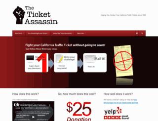 ticketassassin.com screenshot