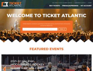 ticketatlantic.com screenshot