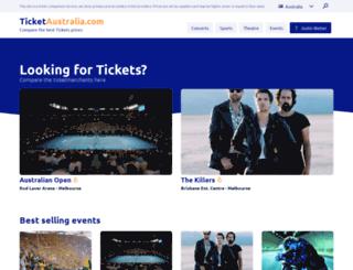 ticketaustralia.com screenshot