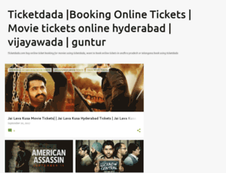ticketdada.blogspot.in screenshot