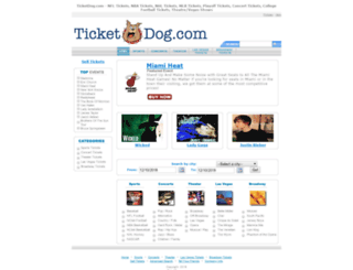 ticketdog.com screenshot