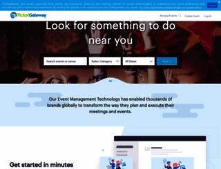 ticketgateway.com screenshot