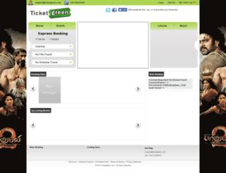 ticketgreen.com screenshot