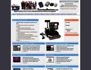 ticketingsystems.com screenshot