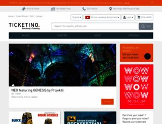 ticketino.com screenshot