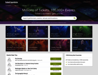 ticketliquidator.com screenshot