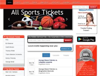 ticketlisters.com screenshot