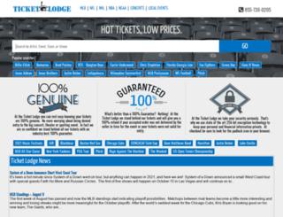 ticketlodge.com screenshot