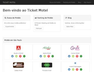 ticketmotel.com.br screenshot