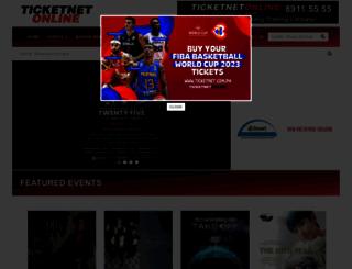 ticketnet.com.ph screenshot