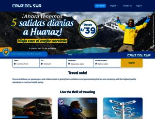 ticketnet.cruzdelsur.com.pe screenshot